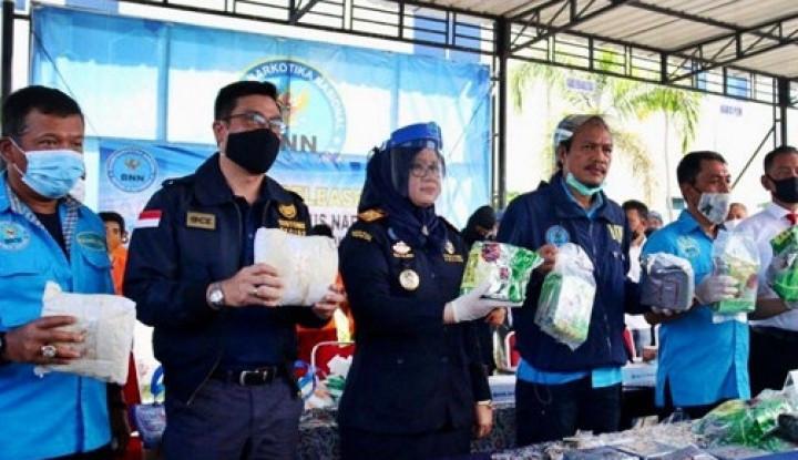 Sinergi Bea Cukai Aceh dan BNN Bongkar Penyelundupan 37 Kg Sabu