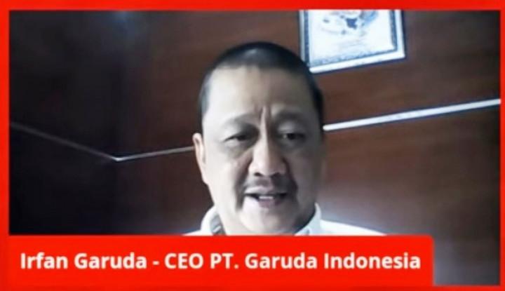 Dirut Garuda Indonesia: 70% Pesawat Kami Parkir