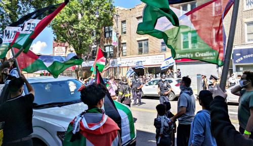 Gak Nyangka, Ratusan New Yorkers Lakukan Protes Aneksasi Israel