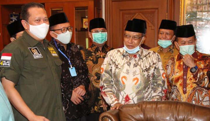 Silaturahmi Pimpinan MPR Dengan PBNU