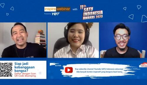 SATU Indonesia Awards 2020 Hadirkan Webinar Jadi UMKM Juara