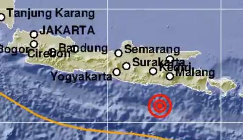 Gempa Magnitudo 5,3 Guncang Blitar, Jawa Timur