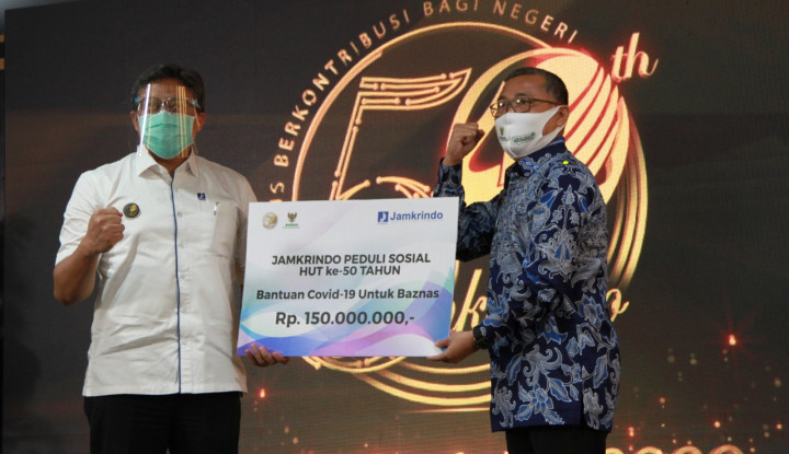 HUT ke-50, Jamkrindo Komitmen Tingkatkan Dukungan bagi UMKM