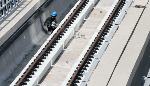 Innalillahi... Proyek LRT 3 Runtuh, Seorang Pekerja Tewas Tertimpa Perancah