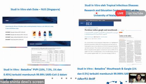 PVP-I Diklaim Mampu Bunuh 99,99% Virus Penyebab Covid-19