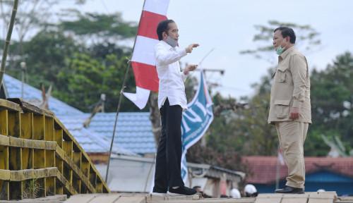 'Tiket' Prabowo Lolos Reshuffle Jokowi