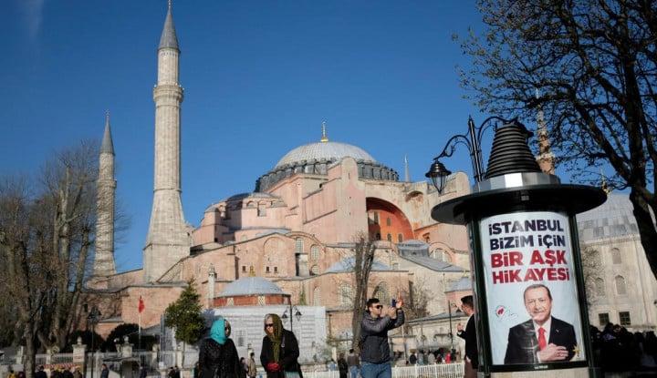 Suriah Dirikan Replika Hagia Sophia, Protes buat Turki?