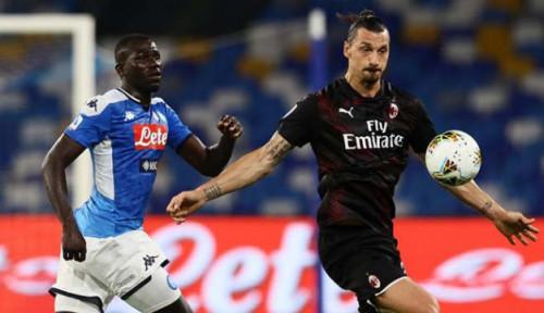 Napoli Berbagi Angka dengan Milan