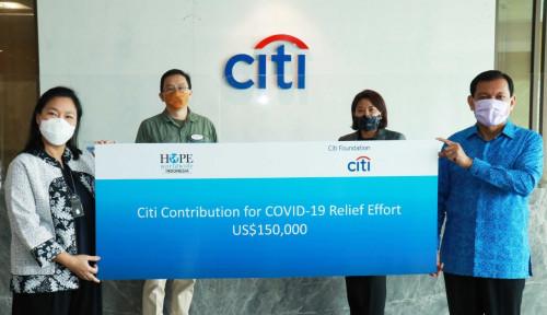 Berantas Covid-19, Citi Foundation Salurkan Bantuan US$150 Ribu