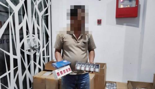 Operasi Gempur Bea Cukai Amankan Ratusan Ribu Batang Rokok Ilegal