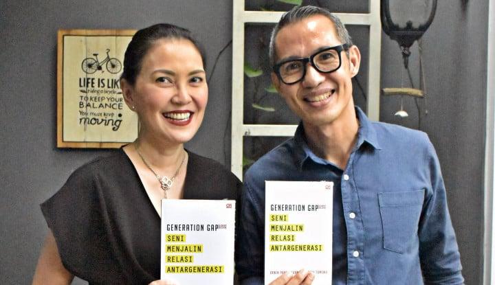 Erwin Parengkuan-Becky Tumewu Luncurkan Buku Generation Gap(less)