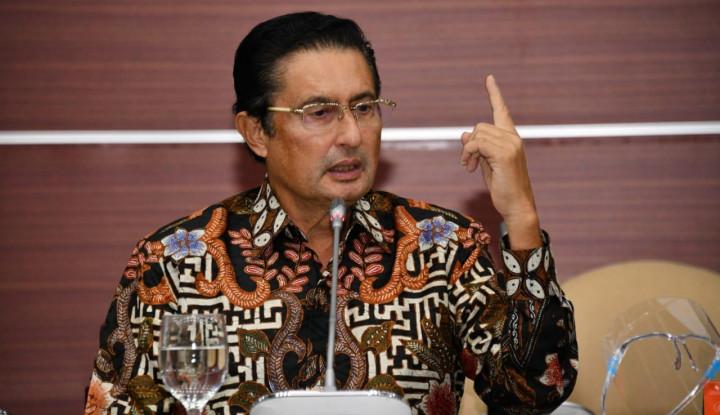 Fadel Muhammad Usul KTA untuk UMKM dengan Bunga 1%
