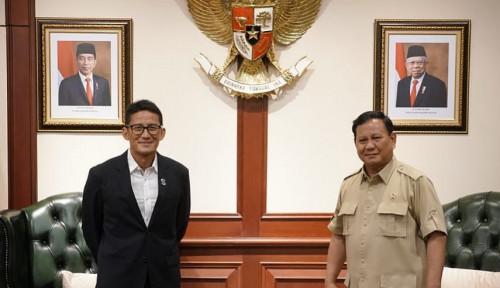 Bertemu Prabowo, Netizen Komentari Sandiaga: Kok Nyesek Ya?