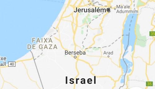 Tampilan Peta Gaza Lebih Parah daripada Peta Korea Utara, Google Mengaku....