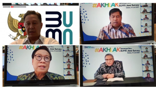 BKI-Sucofindo-Surveyor Indonesia Gaungkan Akhlak di Perusahaan