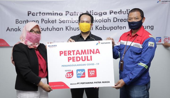 Pertamina Patra Niaga Rajin Salurkan Bantuan Sepanjang Juli