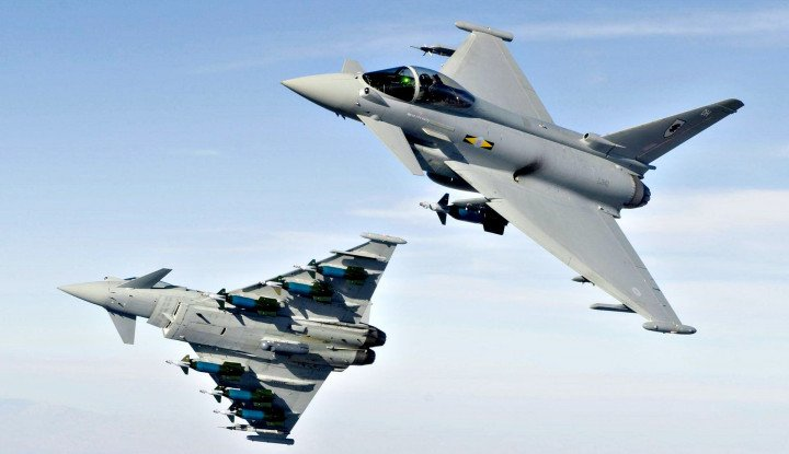 Gerak Cepat Prabowo Bahas Jet Eurofighter Typhoon dengan Austria
