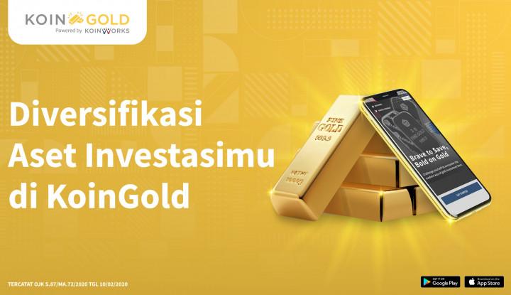 Diversifikasi Aset, KoinWorks Tawarkan Layanan Jual Beli Emas