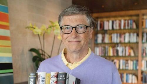 Foto Bill Gates Minta 100 Juta Dosis Vaksin Corona Murah untuk...