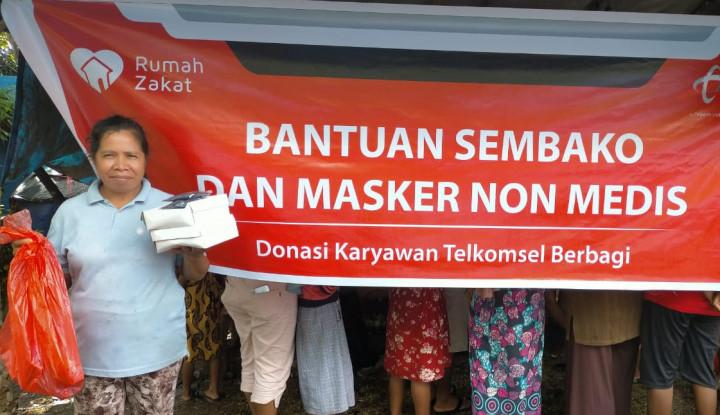 Bantu Masyarakat Terdampak Covid, Telkomsel Gaet Rumah Zakat