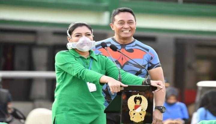 Pakai Masker Rp22 Juta, Istri Jenderal Andika Sakit Berat
