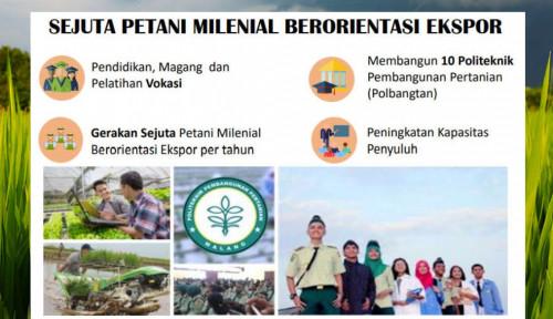 Jadi Ujung Tombak Pertanian, Milenial Perlu Terjun Langsung!