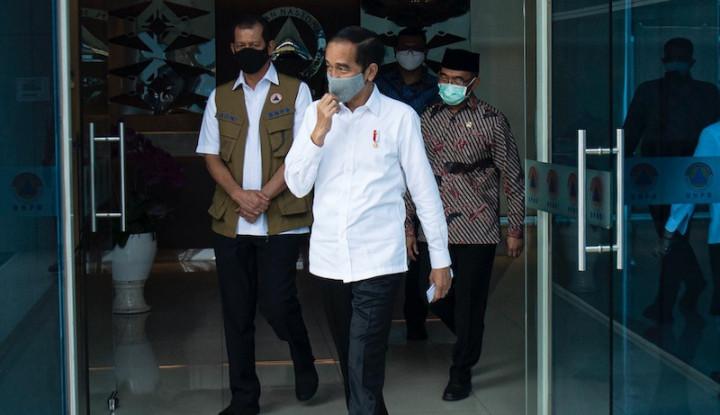 Jokowi: Tak Ada Pembubaran Satgas Covid-19