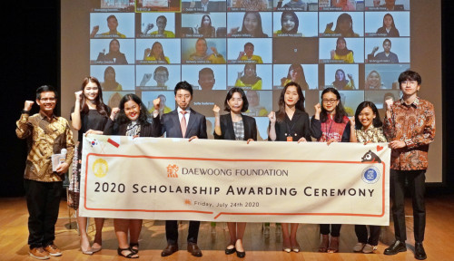 Studi Covid-19, 55 Mahasiswa Terima Beasiswa Daewoong Foundation
