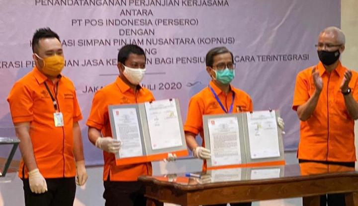 Pos & KSP Nusantara Integrasikan Pelayanan Jasa Keuangan Pensiun