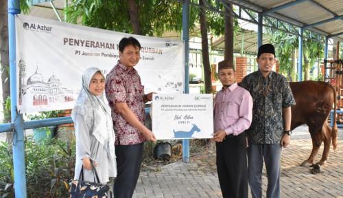 Askrindo Syariah Salurkan Hewan Kurban ke Masjid-Masjid Jakarta