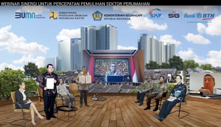 Semen Indonesia Gandeng BTN dalam Percepat Pembangunan Perumahan