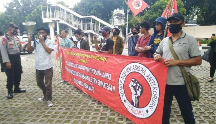 Demo Lagi, Kamak Nilai KPK Tebang Pilih, Seperti Dugaan Korupsi..