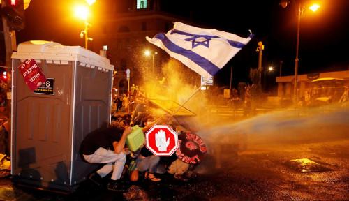 Rumah Netanyahu Dikepung Pengunjuk Rasa, Tuntutan Utamanya...