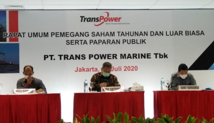 Trans Power Marine Bakal Bagi Dividen Hingga Senilai Rp61,88 M