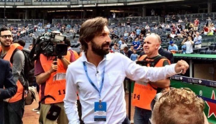 Pirlo Kepincut Latih Juve U-23, Padahal...
