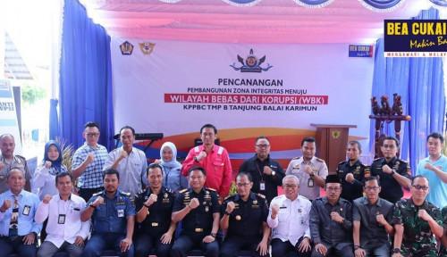 Bea Cukai Tanjung Balai Karimun Wujudkan Wilayah Bebas Korupsi