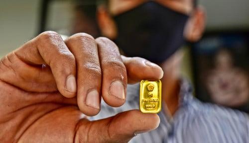 Babak Belur di Pegadaian, Harga Emas di Butik Antam Merangkak Naik