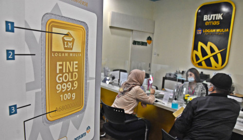 Senasib Sepenanggungan, 3 Hari Berturut-Turut Harga Emas Antam Gak Kuat Nanjak