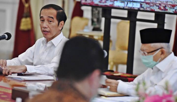 Nah! Jokowi Sentil Kelompok-kelompok Sok Agamis, Sok Pancasilais