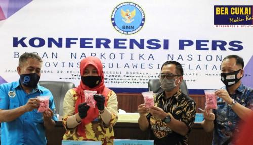 Bea Cukai Makassar & BNN Gagalkan 4 Penyelundupan Narkotika