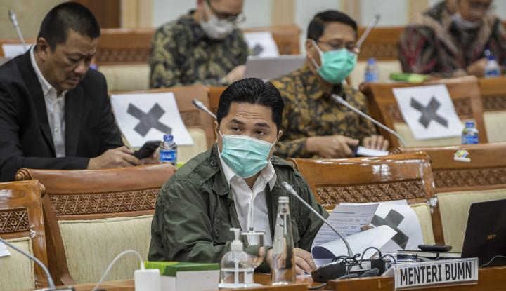 Abis Ketemu Ahok, Erick Thohir Ancam Bubarkan BUMN 'Gak Hasil'