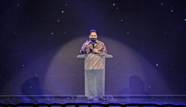 Erick Thohir Jelaskan 'Orang Titipan' di BUMN: Nggak Banyak, Cuma