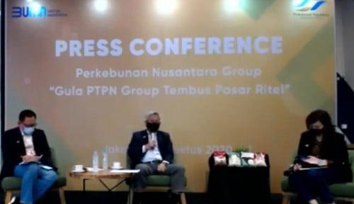 PTPN Group Pasok 40.000 Ton Gula ke Pasar Ritel