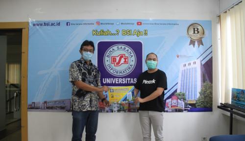Pintek Salurkan Biaya Kuliah Mahasiswa BSI