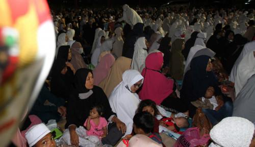 Ribuan Orang Berkumpul, Warga Aceh Berzikir Agar Corona Berakhir