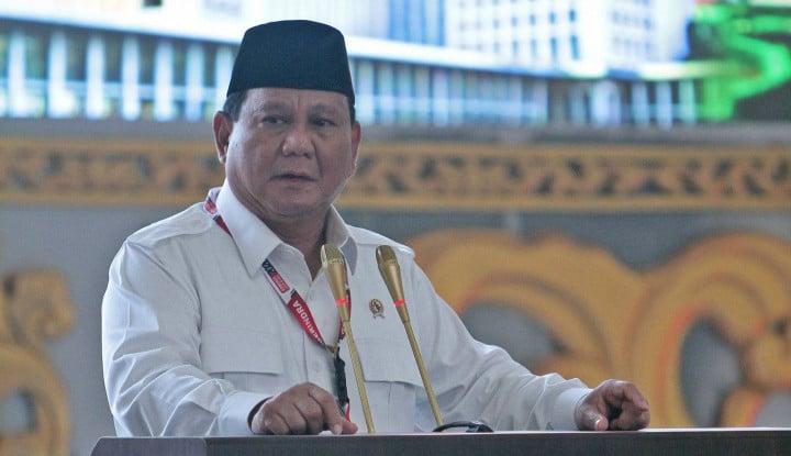 Elektabilitas Prabowo Dikangkangi Ganjar, Jawaban Gerindra Santuy: Biasa