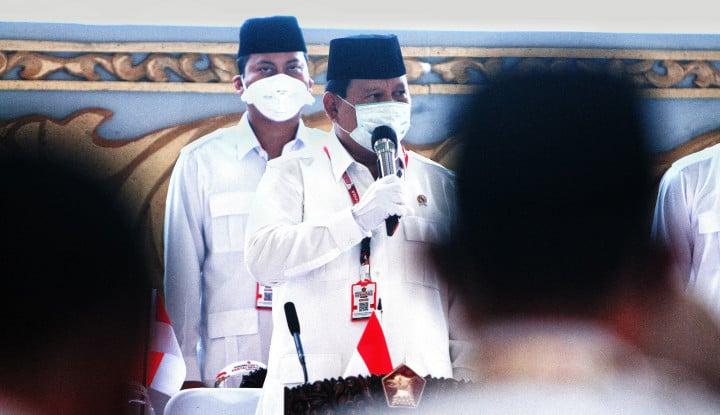 Prabowo ke Pendemo yang Belum Baca UU Cipta Kerja: Banyak Hoaks