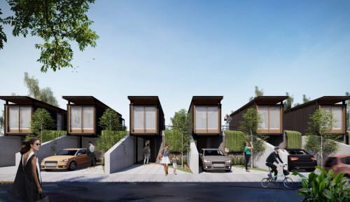 Yuk, Intip Rumah Futuristik Konsep Modular dengan Solar Panel!