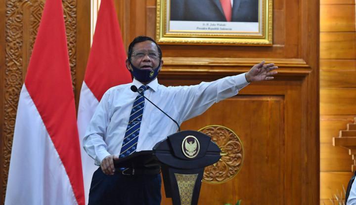 Gak Usah Macam-Macam! Mahfud MD Tegas: Jokowi Tak Bisa Dijatuhkan Pakai Alasan Covid-19!