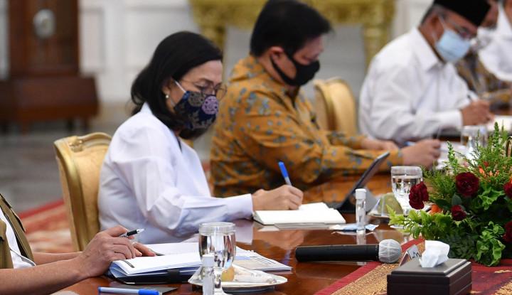 Sri Mulyani Usul Anggaran Kemenkeu 2021 Rp43,30 Triliun